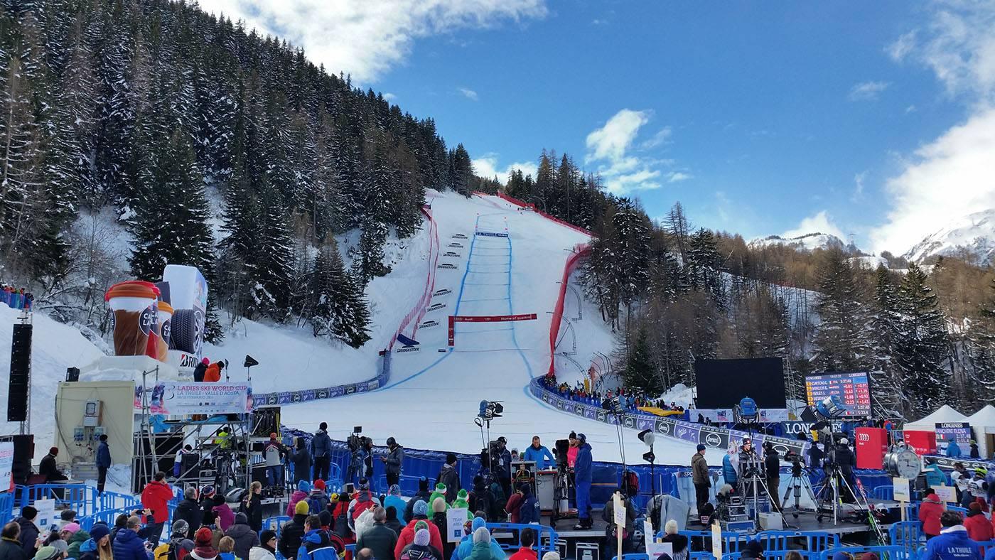 Coppa del Mondo di sci a La Thuile stagione 2019/2020
