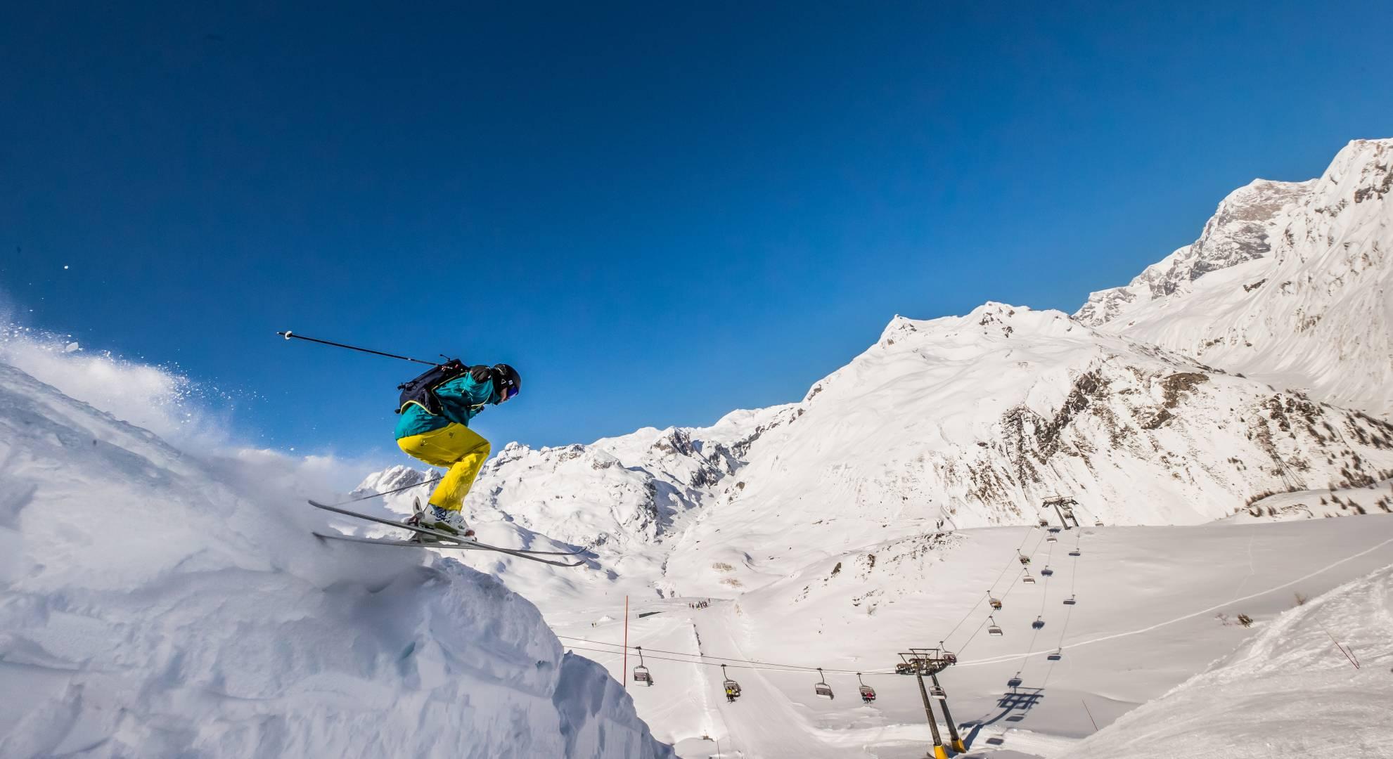La Thuile stagione sciistica - inverno 2018/2019
