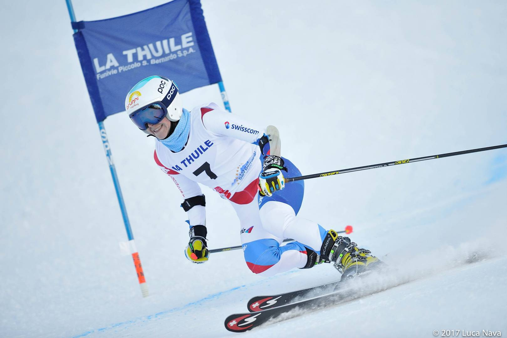 Telemark world Cup : the podium of the fist day