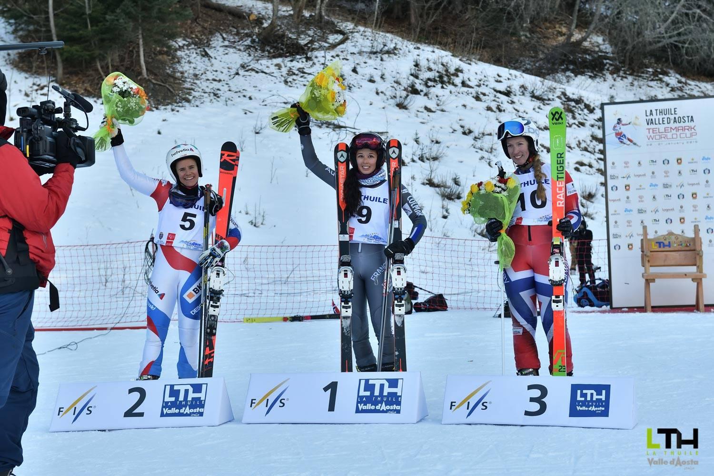 Telemark World Cup : il podio della prima giornata di gare