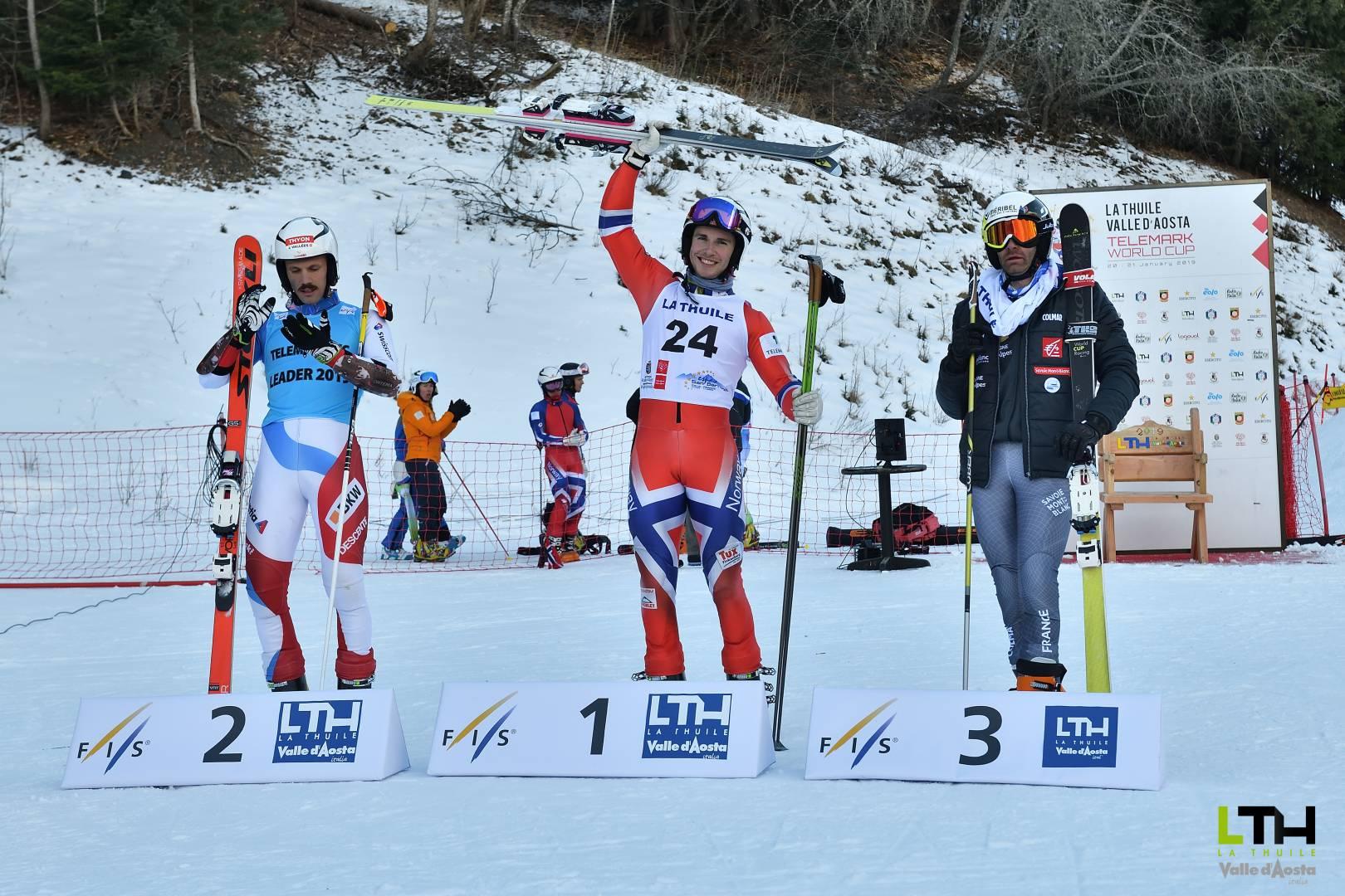 Telemark World Cup : le podium de la première journée
