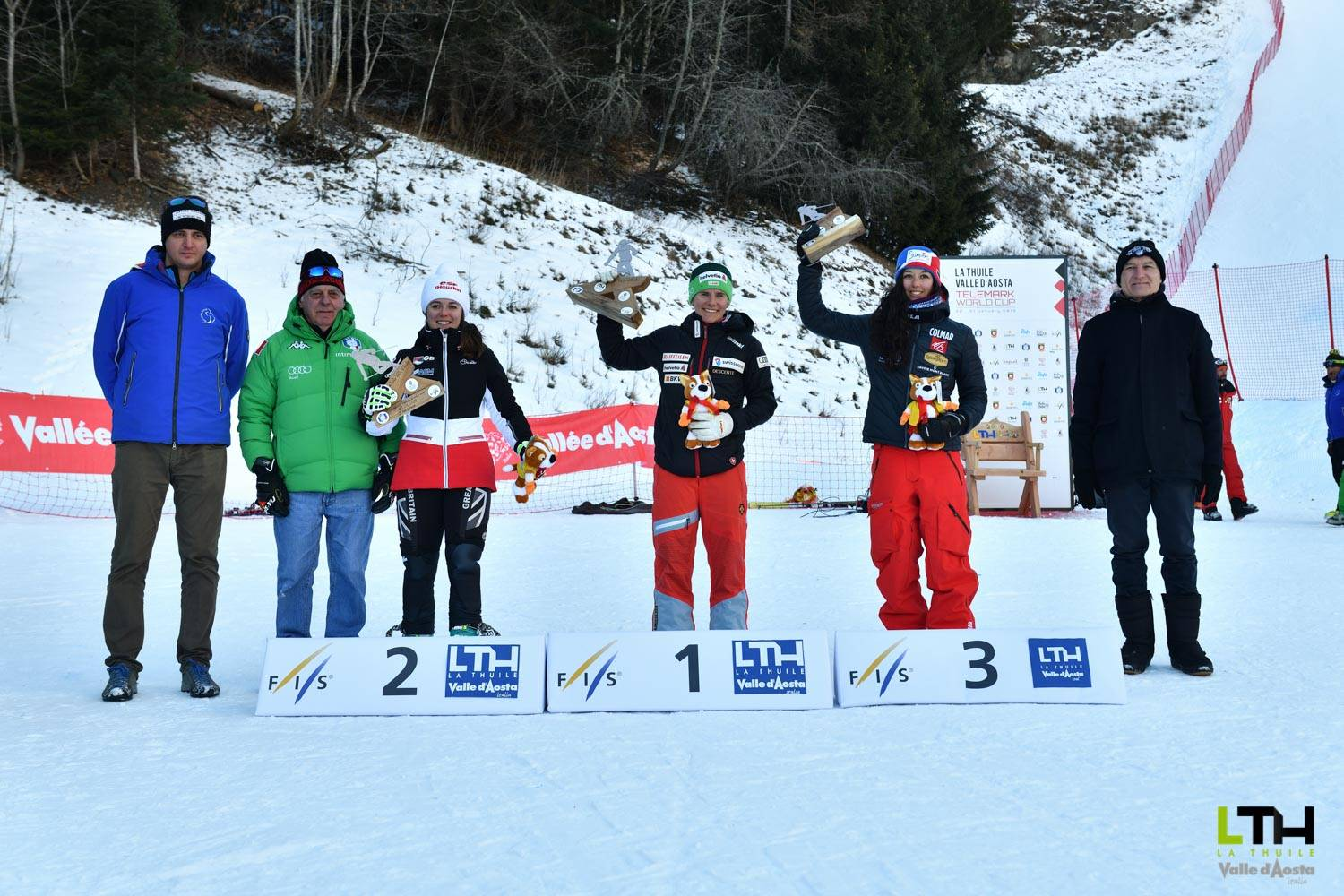 Telemark World Cup : the podium of second day