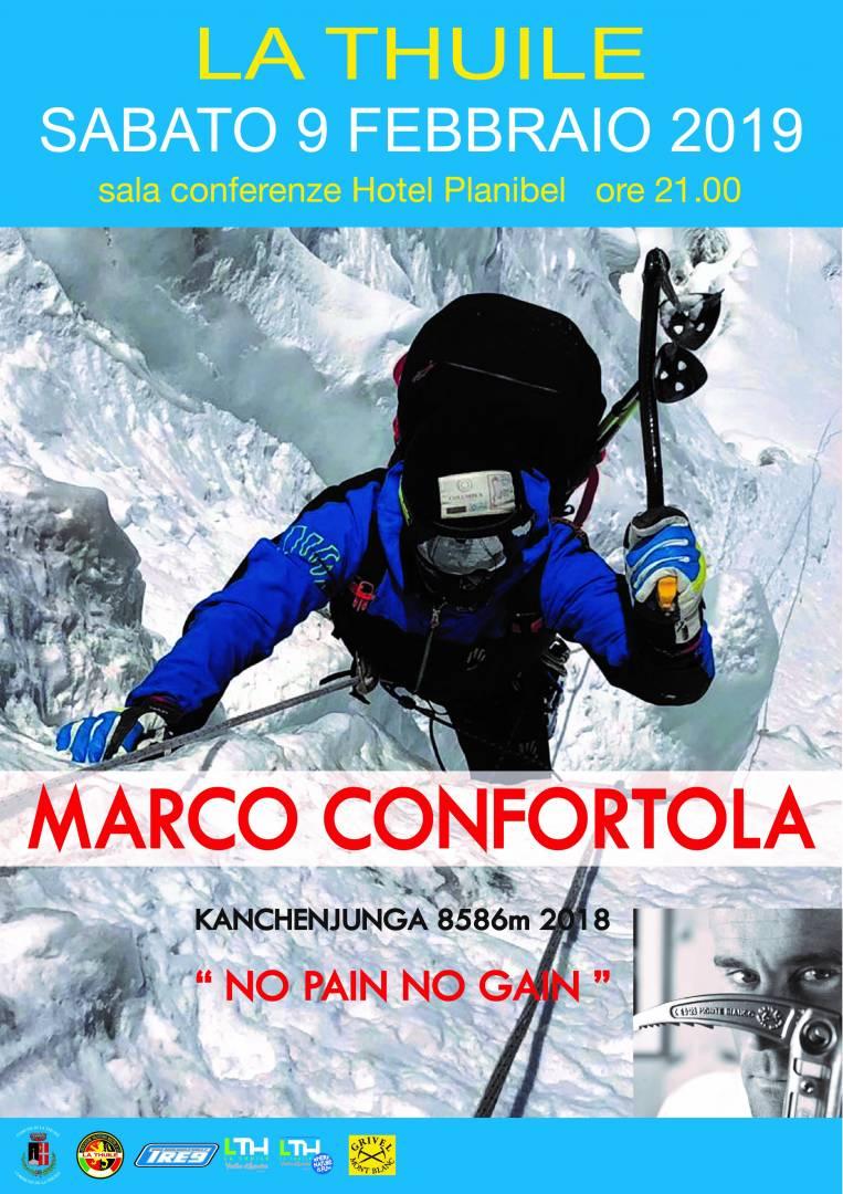 cs_A La Thuile, il 9 febbraio, Marco Confortola racconta i suoi 8000