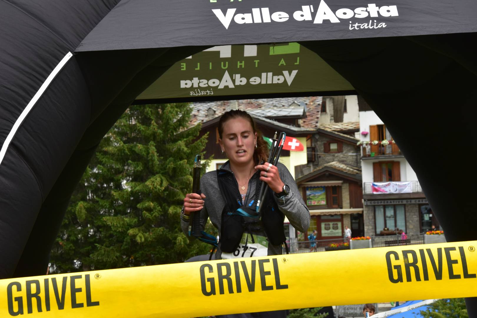 anna thomasson prima classificata 25 km la thuile trail