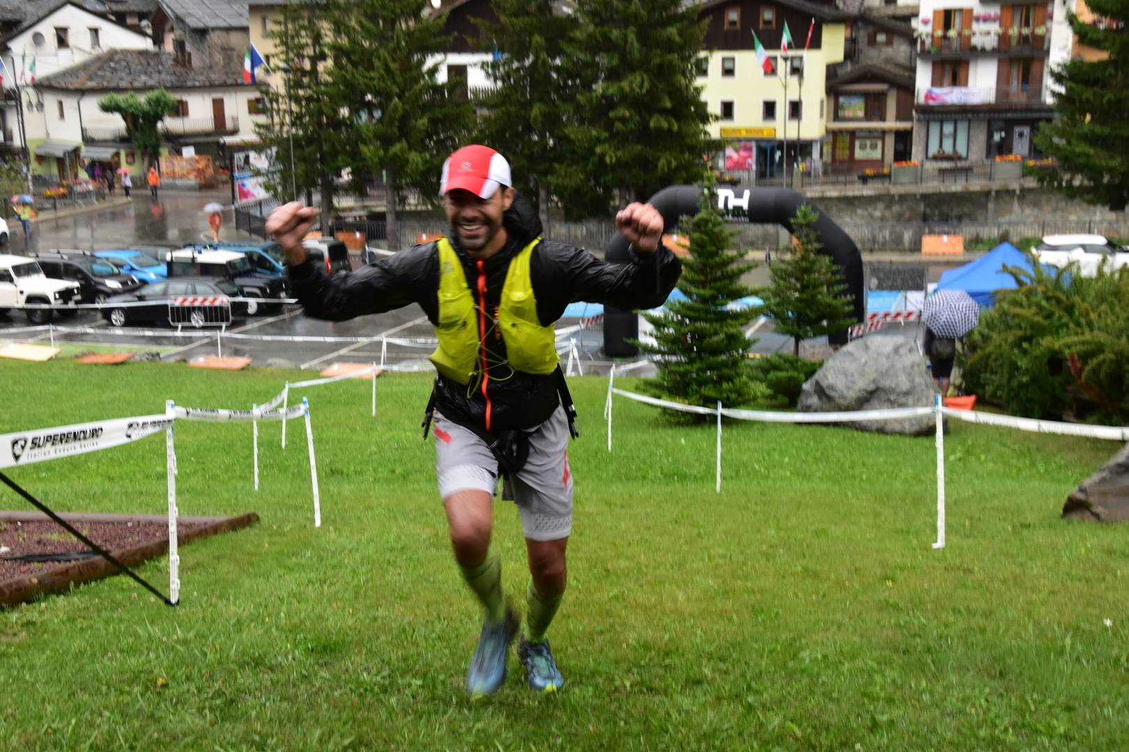 lorenzo bassi 3 classificato 60 km la thuile trail