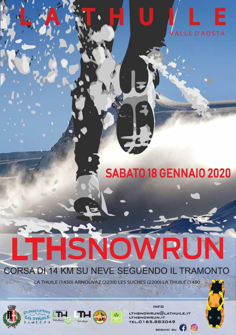 A La Thuile 1^ edizione di LTHSNOWRUN 18 gennaio 2020