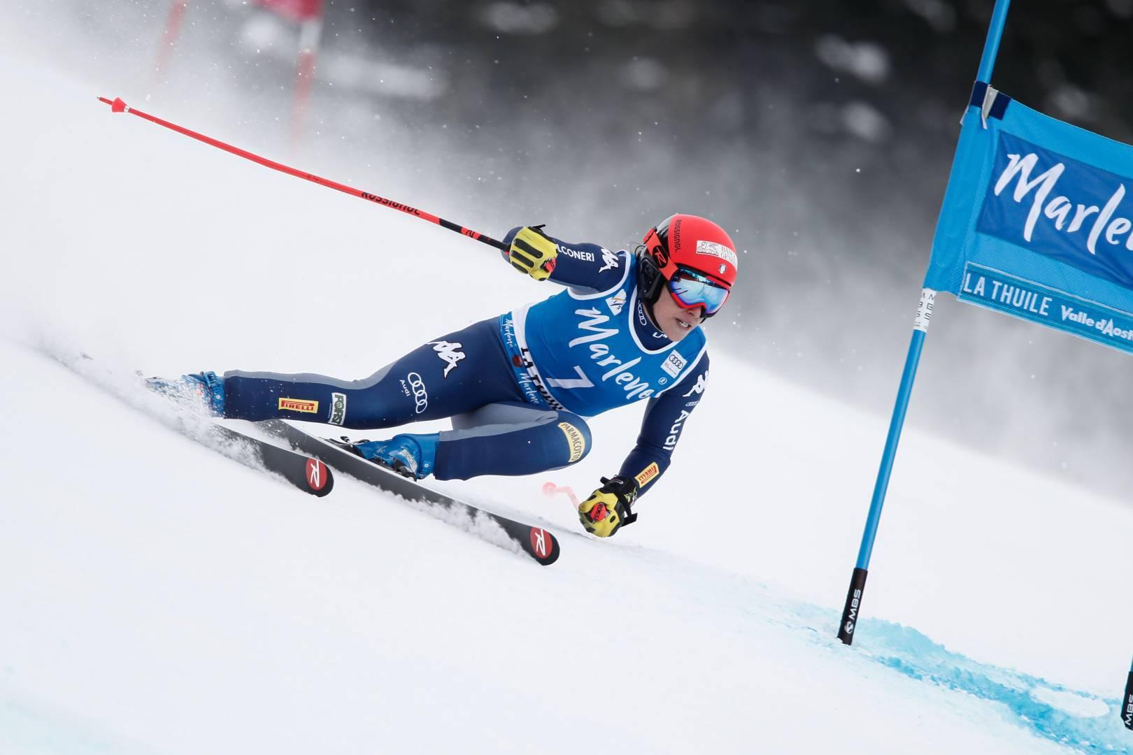 La Thuile dedica la personalizzazione di una cabina delle Funivie alla campionessa del mondo di sci