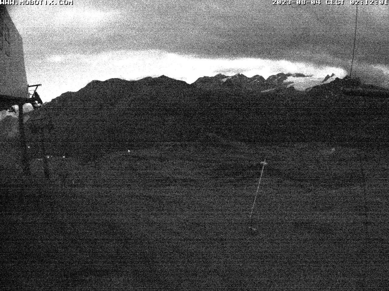 Vista dai 2.600 mt di Chaz Dura