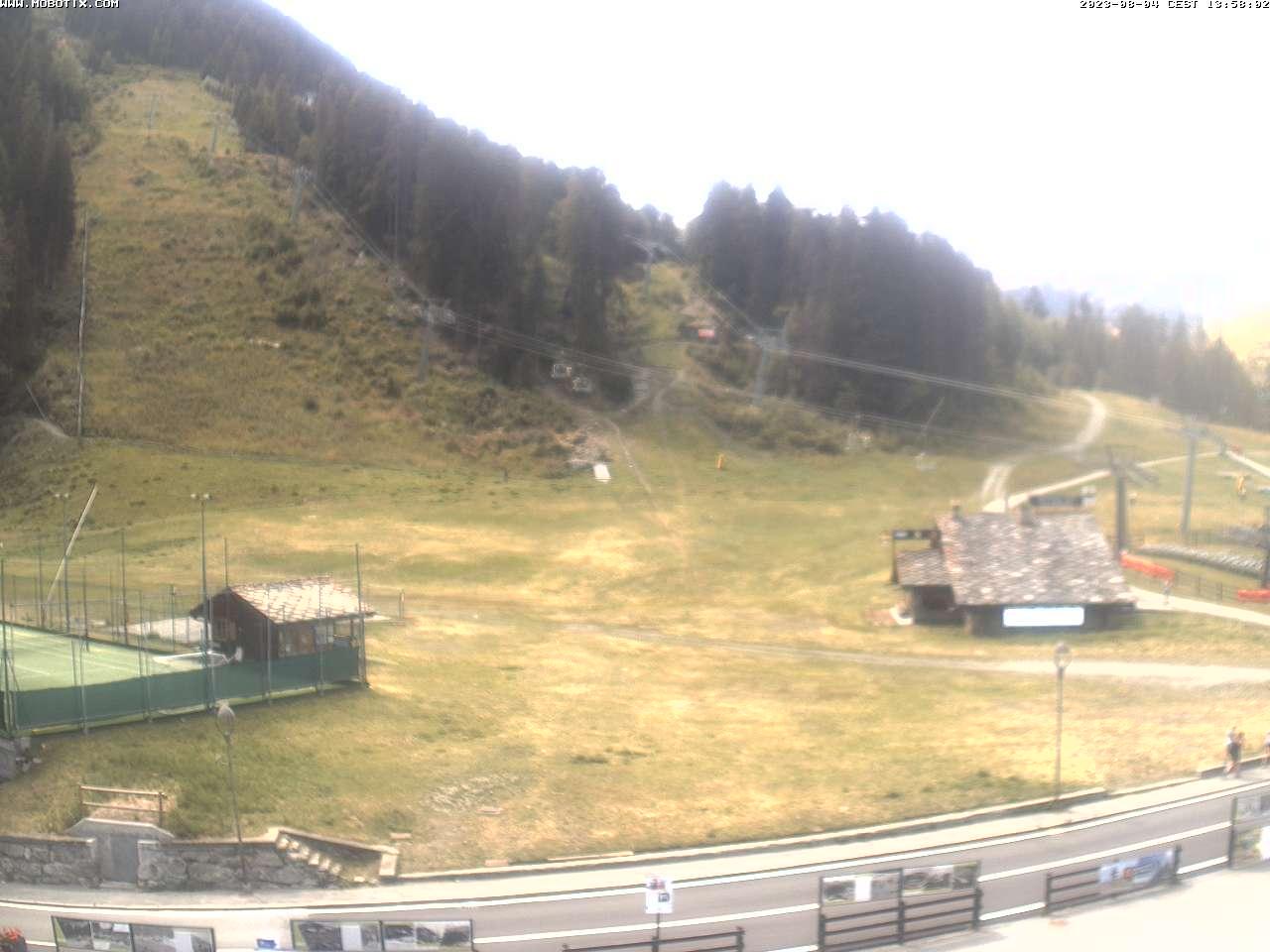 La Thuile 1.450 m - Zona partenza impianti